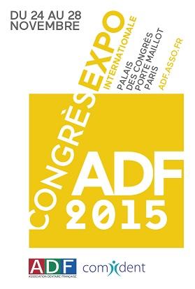 congrés ADF Association Dentaire Française logo 2015